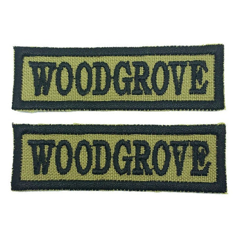 WOODGROVE NCC SCHOOL TAG - 1 PAIR - Hock Gift Shop | Army Online Store in Singapore