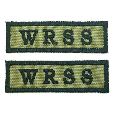 WOODLAND RING (W.R.S.S) NCC SCHOOL TAG - 1 PAIR - Hock Gift Shop | Army Online Store in Singapore