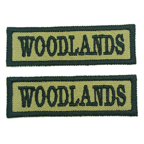 WOODLANDS NCC SCHOOL TAG - 1 PAIR - Hock Gift Shop | Army Online Store in Singapore
