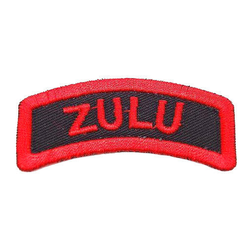 ZULU TAB - BLACK RED