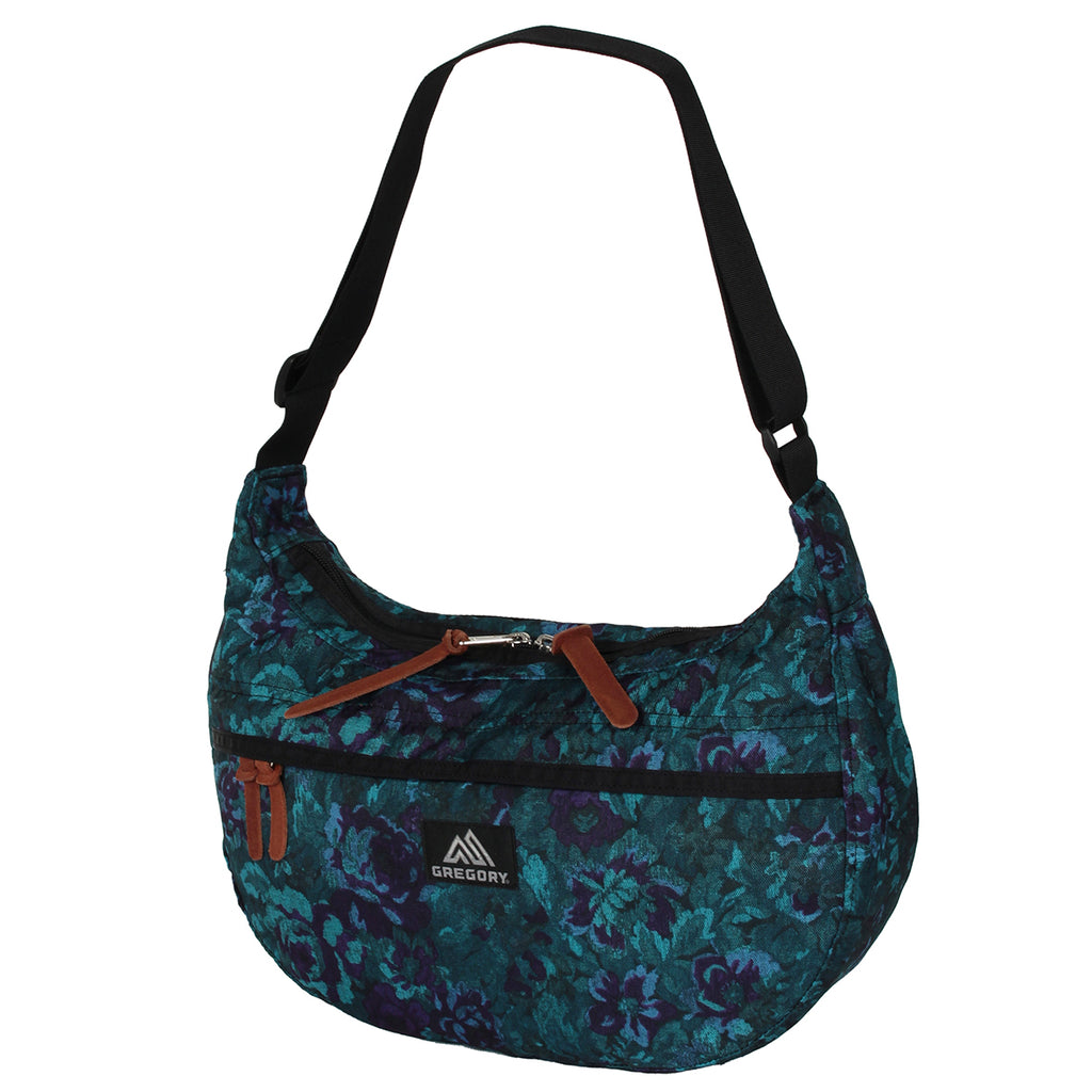 GREGORY SATCHEL - M - BLUE TAPESTRY