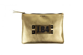 Pochette speaking medium nappa oro