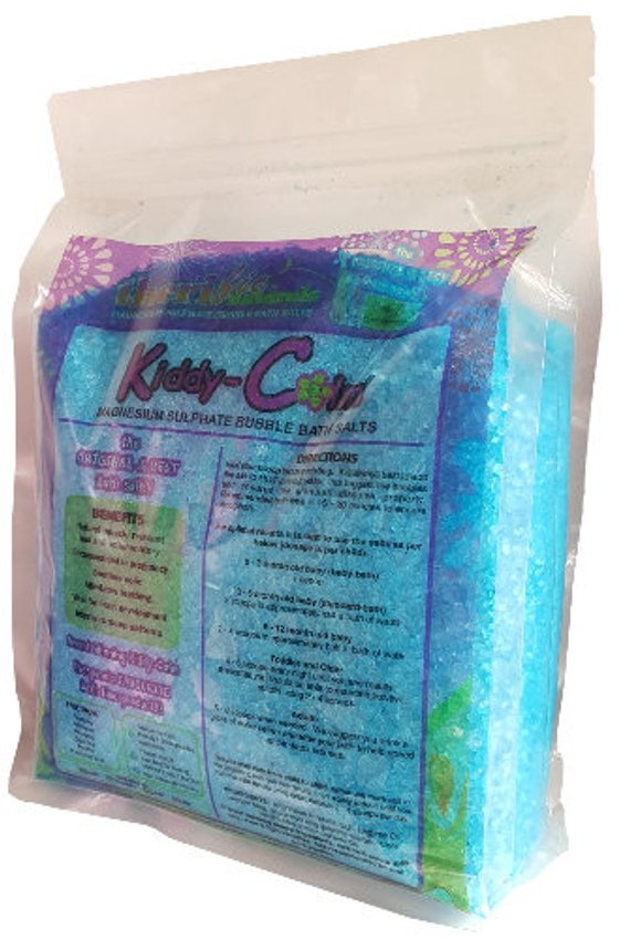 KIDDY CALM BATH SALTS - BLUEBERRY POP