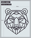 GEOMETRIC ANIMALS - BEAR