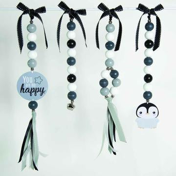 DINGLE DANGLE SET - HAPPY PENGUIN