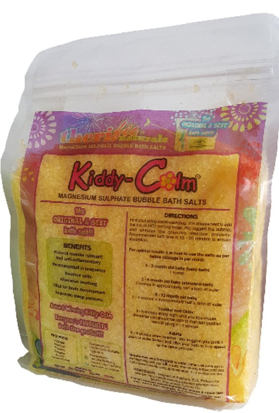 KIDDY CALM BATH SALTS - STARDUST YELLOW