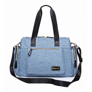 Snuggletime Nappy Bag – Miami Chic Blue