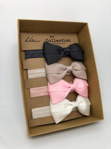 The Collection Set bows