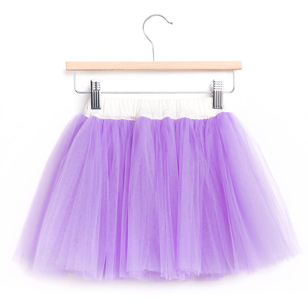 Girls Lavender Tutu Skirt | 淡紫色Tutu短裙