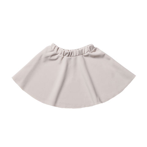 Girls Beige Skirt | 米色短裙