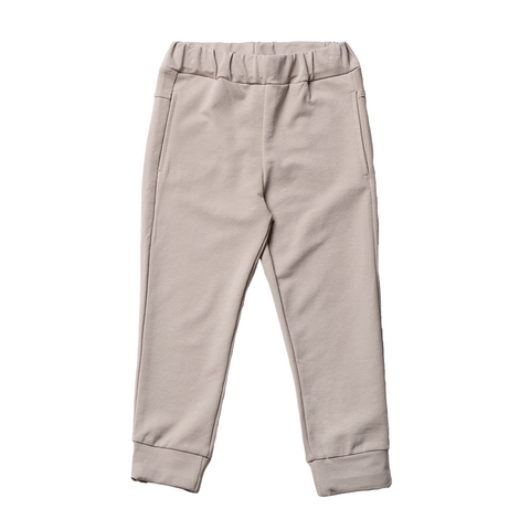 Boys Beige Cotton Pants  | 米色綿質長褲