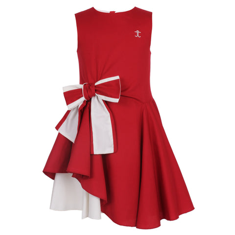 Lily Dress Royal Red | Lily紅色連身裙