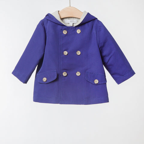 Girls Purple Raincoat | 紫色外套