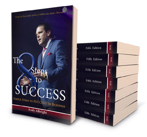 Case of 8 Steps to Success
