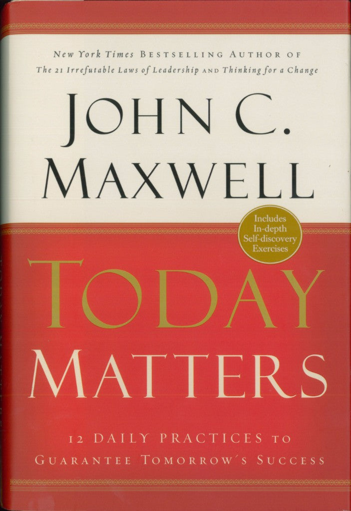 Today Matters Hard Cover
