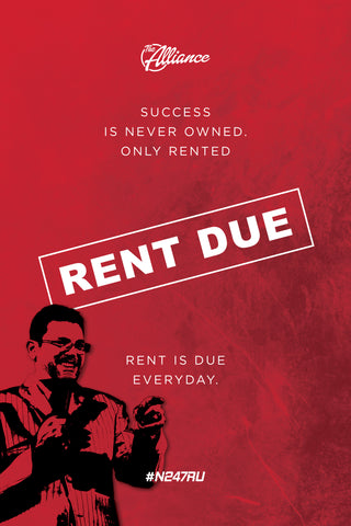 Rent Due Poster