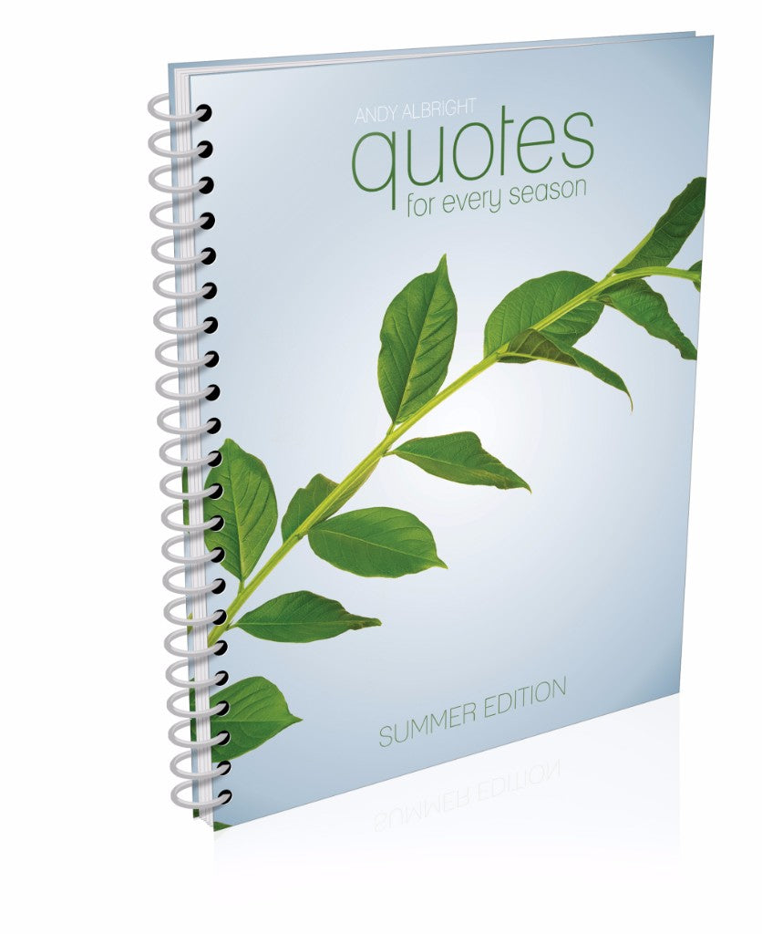 Summer Quotes Book