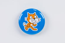 Scratch Cat button photo
