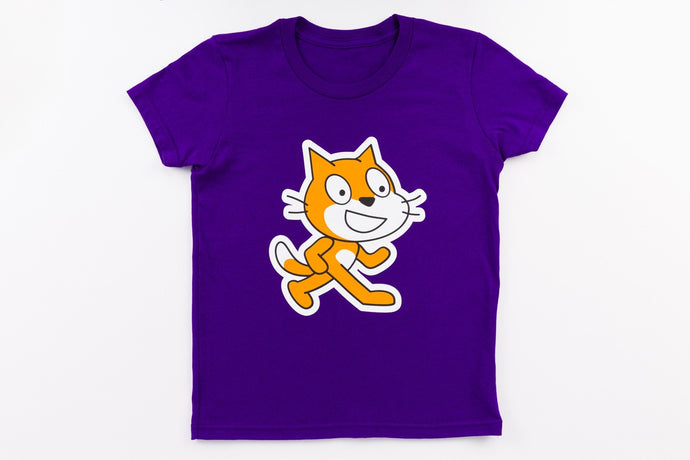 Scratch Cat t-shirt photo
