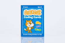 Scratch Coding Cards photo box front