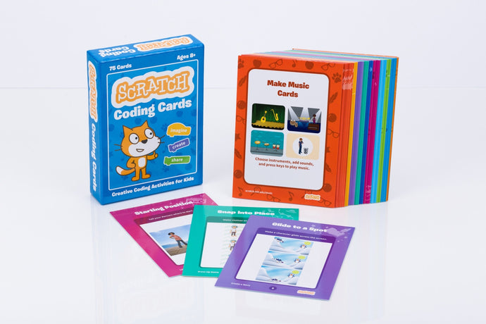Scratch Coding Cards photo