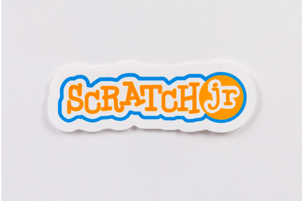 ScratchJr Logo Sticker (Pack of 20)