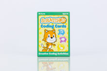 ScratchJr Coding Cards box front photo