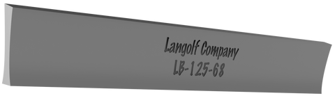 LB-156-68 5° Beveled (Johnson) Cutoff Blade