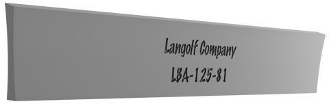 LBA-125-96 7° Beveled (Acme) Cutoff Blade