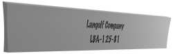 LBA-125-48 7° Beveled (Acme) Cutoff Blade