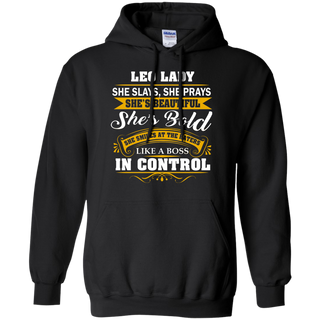 Teefavory Women's Teefavory Women's leo Lady She Slays She Prays She's Beautiful She's Bold Shirt - Hoodie for woman - Hoodie for woman