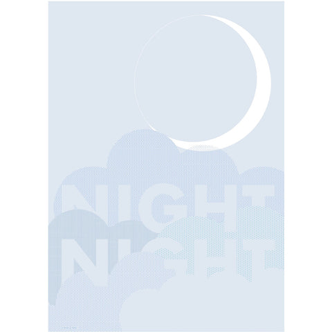 Night Night poster van Friday & Today