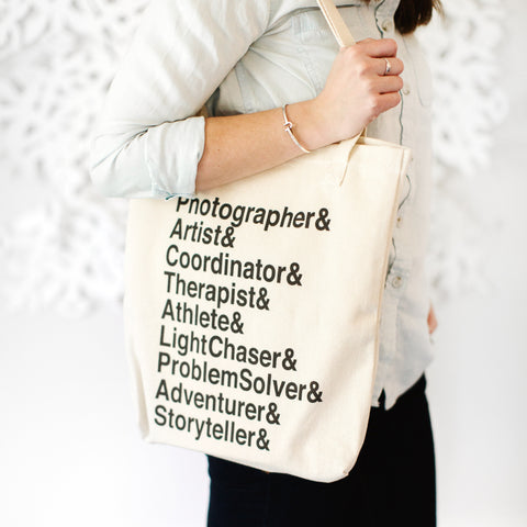 Wedding Photographer Roll-Call Tote