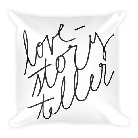 Photography Studio Decoration, Photographer Pillow, Love Storyteller
