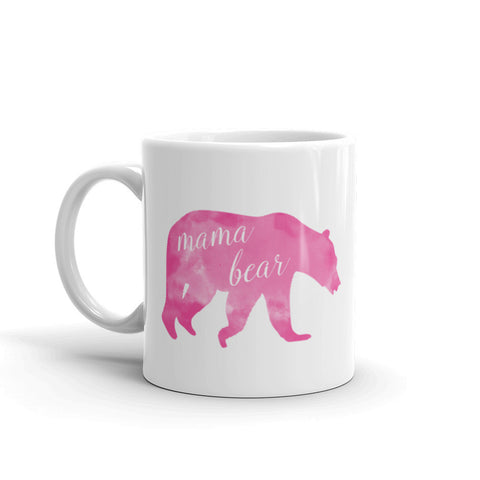 """Mama Bear"" Marbled Mug"