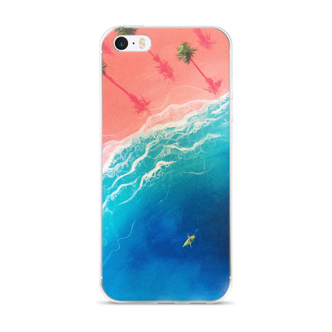 """Kayatching Waves"" IPhone Case"