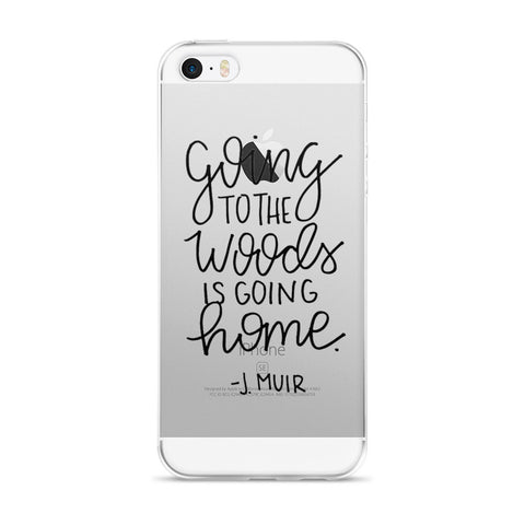 """To the Woods"" iPhone Case"