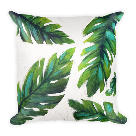 """Palm de Terre"" Pillow"