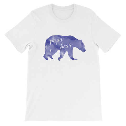 """Papa Bear"" Marbled Shirt (2 Colors)"