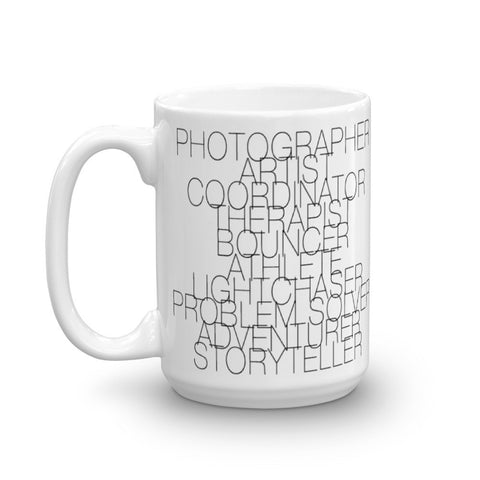 Wedding Photographer Mug, Photographer Mug, Photographer Job Description