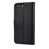 IPHONE 7 PLUS MILAN BLACK ITALIAN LEATHER WALLET CASE