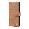 IPHONE 7 PLUS MILAN TAN ITALIAN LEATHER WALLET CASE