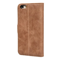 IPHONE 6 / 6S MILAN TAN ITALIAN LEATHER WALLET CASE