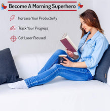 The Morning Sidekick Journal - Morning Habit Tracker! Create Your Perfect Morning Routine. A Science Driven Daily Planner for Building Positive Life Habits. (Sunrise red.) - MINDFUL ZEBRA