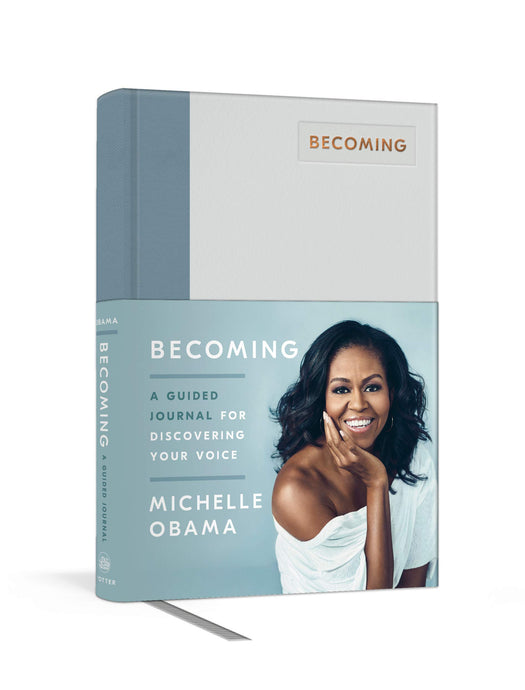 Becoming: A Guided Journal for Discovering Your Voice - MINDFUL ZEBRA