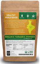 Organic Turmeric Root Powder w/ Curcumin | Lab Tested for Purity | 100% Raw from India | 16oz/453g (1lb) Resealable Kraft Bag | by Feel Good Organics - MINDFUL ZEBRA