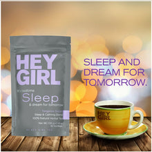 Sleep Aid Tea for Bedtime - Herbal Stress & Anxiety Relief Remedy to Help Insomnia, Relax & Get Restful Sleep at Night - MINDFUL ZEBRA