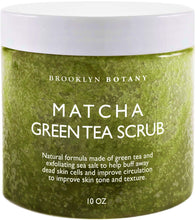 Matcha Green Tea Exfoliating Body Scrub- 10 oz - MINDFUL ZEBRA