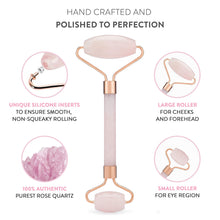 Rose Quartz Beauty Facial Skins Massager - MINDFUL ZEBRA