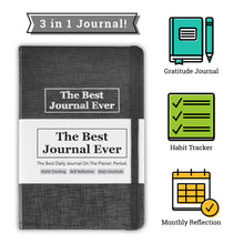 Daily Positivity Journal For Happiness, Wellness, Mindfulness & Self Care - Inspirational Journals To Write In, Writing Prompt Journal & Guided Journal Gifts For Men & Women - Hardcover Diary Notebook - MINDFUL ZEBRA